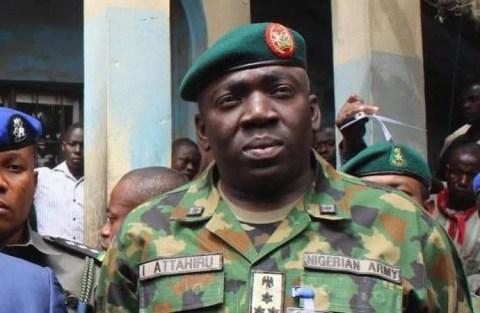 Late Chief of Army Staff, Attahiru