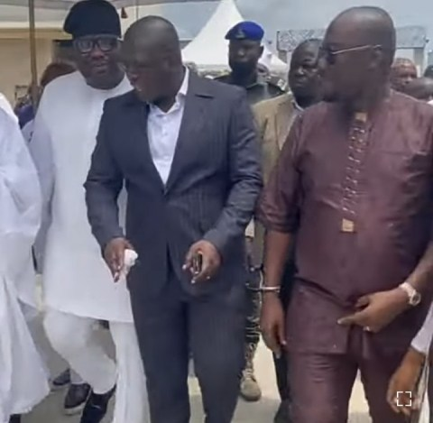 Obi and Oba attend Ned's event