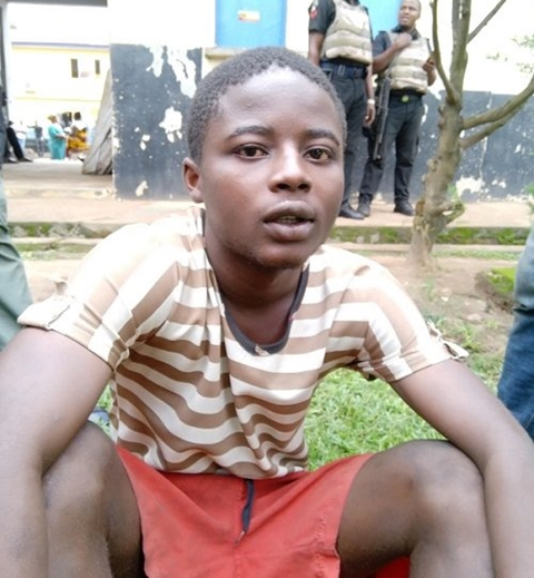 Image result for boy kills mother sleeps with corpse nigeria
