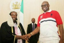Image result for Ekiti Assembly impeaches speaker Oluwawole, elects Alagbada
