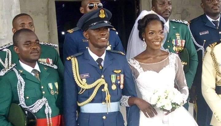 How I Learnt About My Husband's Death On WhatsApp - Wife Of NAF Pilot Opens Up 1