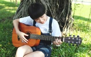 子供のアコースティックギター教室とレッスン|高島市のギター教室トリイミュージック