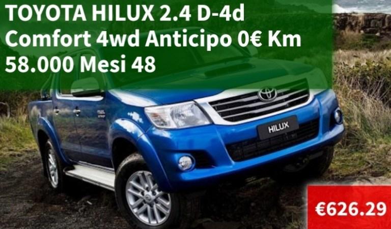 Noleggiladybug: Toyota Hilux pickup