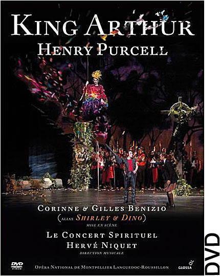Henry Purcell:King Arthur (DVD)Le Concert Spirituel – Hervé NiquetGlossa GVD 921619