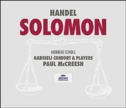 Georg Frideric Handel:Solomon Gabrieli Consort & Players – Paul McCreeshDeutsche Gramophon, Archiv 459 688–2