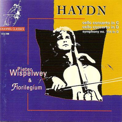 Joseph Haydn:Cello ConcertosPieter Wispelwey & FlorilegiumChannel Classics CCS 7395