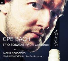 Carl Phillip Emmanuel Bach:Trio SonatasLes Ambassadeurs – Alexis KossenkoAlpha 821