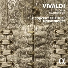 Antonio Vivaldi Gloria, Magnificat Le Concert Spirituel – Hervé Niquet CD Alpha 222