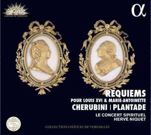 Cherubini | Plantade: Requiems Le Concert Spirituel – Hervé Niquet CD Alpha 251