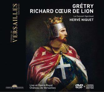 Grétry: Richard Cœur de Lion Le Concert Spirituel – Hervé NiquetCD+DVD Versailles Spectacles #28