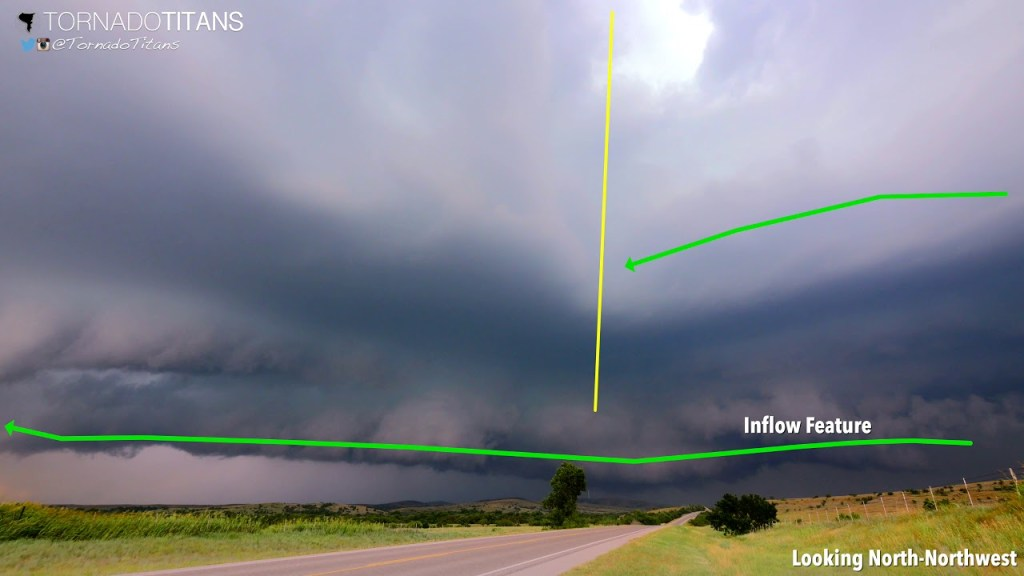 A Wet-Classic Supercell With a Tornado Warning: What's It Going to Do?