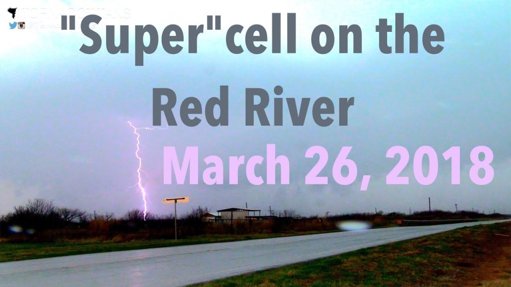 """March 26, 2018 Storm Chase 