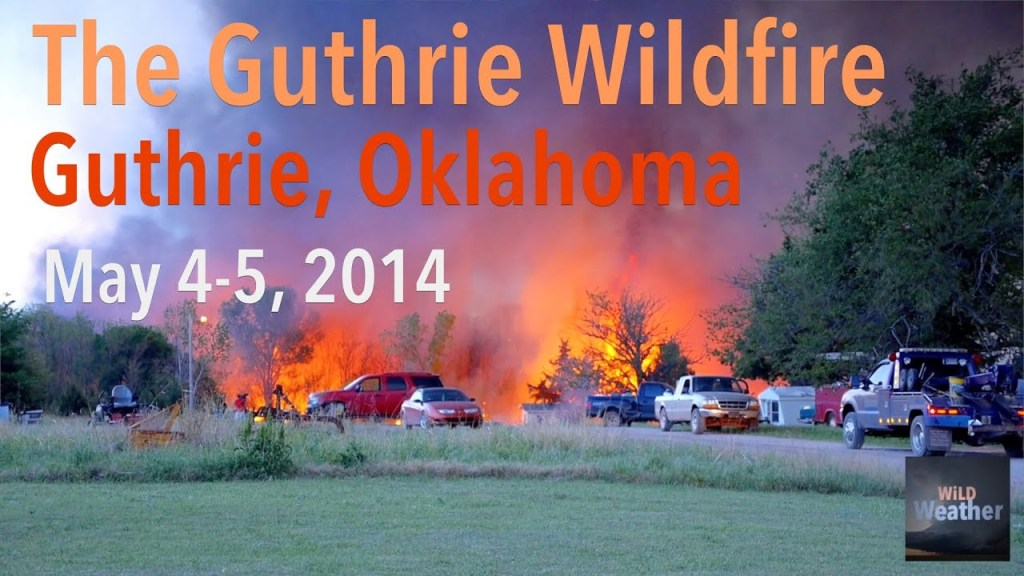 WiLD Weather: When its may, you chase (wildfires) in Oklahoma. The May 2014 Guthrie Fire.