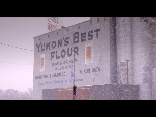 February 28, 2015 Storm Chase   Yukon, OK Snow