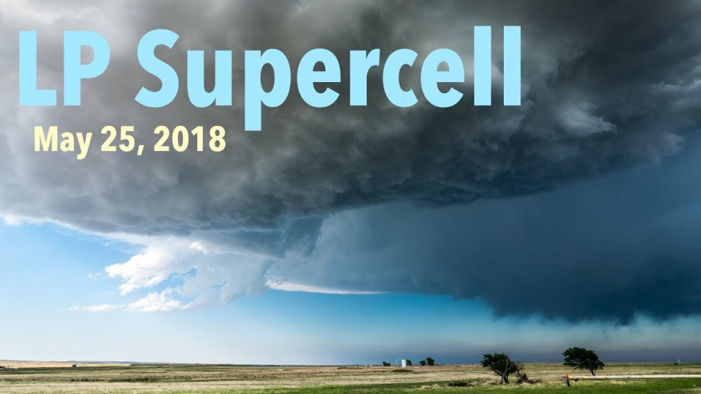 May 25, 2018 Storm Chase | LP Supercell followed by quick MCS generation!
