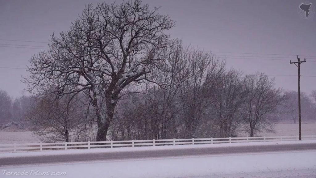 February 4, 2014 Storm Chase | Heavy Snow in Oklahoma