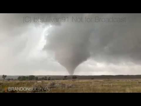 September 10th 2019 Jay Em, Wyoming Tornado