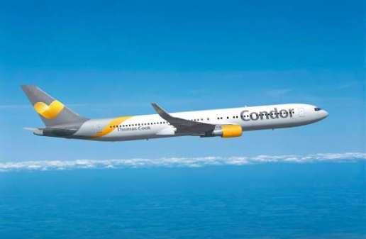 Condor: Νέες πτήσεις προς Θεσσαλονίκη, Σάμο και Βόλο το 2017