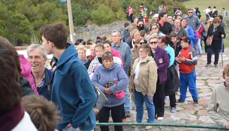Saavedra – Finalmente la lluvia impidió la peregrinación en la Ermita