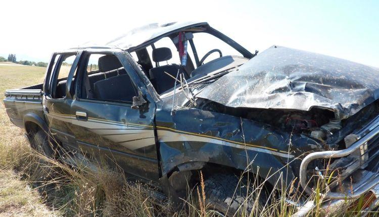 Saavedra – Dos jóvenes murieron en un choque en el acceso a la localidad