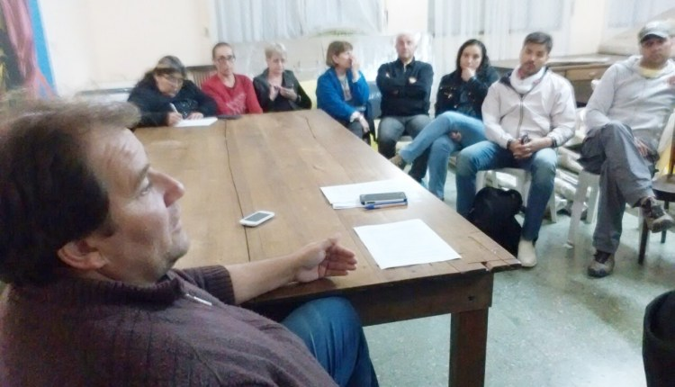 Saldungaray – Los vecinos tuvieron una reunión con el Delegado