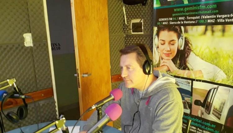 Trankels pasó por la radio y explicó detalles de una situación confusa