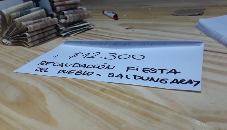Saldungaray – «Todos por Agustina», se recaudaron 12.300 pesos