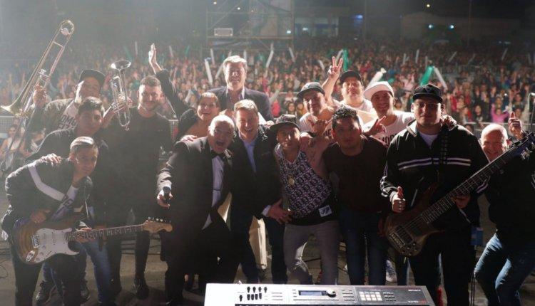 Fiesta Nacional del Ajo – La lluvia también obligó a suspender los shows