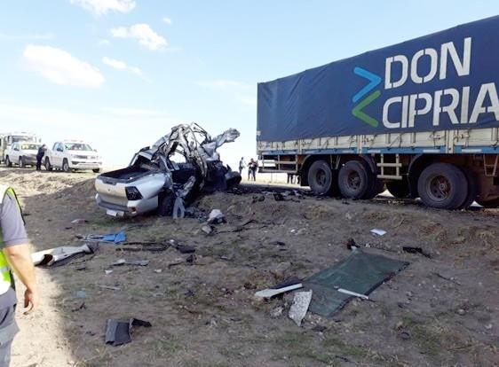 """Ruta 35 – Accidente caratulado """"Homicidio Culposo"""""""