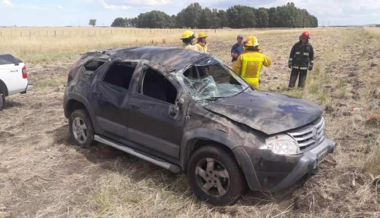Ruta 51 – Dos automóviles protagonizaron un accidente