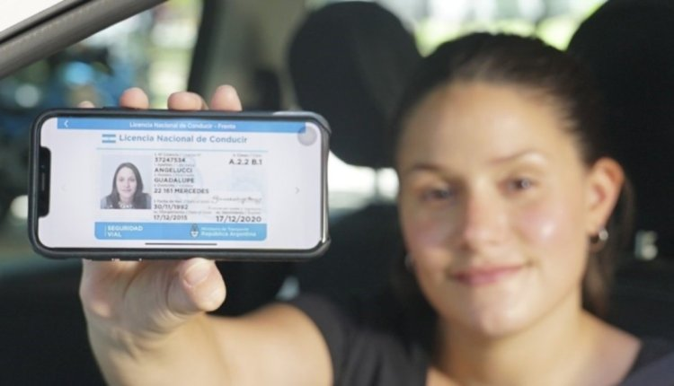 El carnet en el celular: lanzaron una aplicación para poder llevar la licencia digital