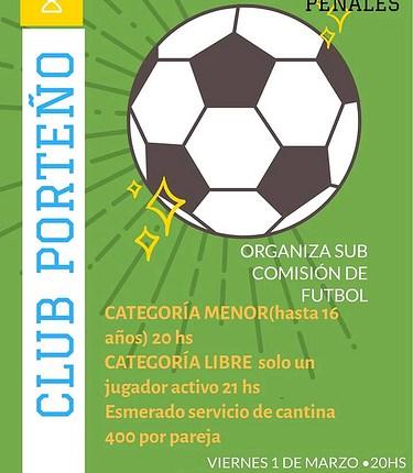 Saldungaray – Porteño presenta su «Campeonato de Penales»