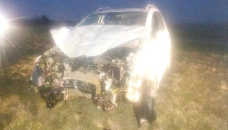 Sierra de la Ventana – Accidente en la Ruta 72 a la altura del Km 5