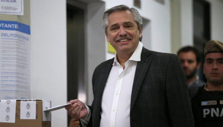 Alberto Fernández – «Quedamos cómodos para salir primeros»