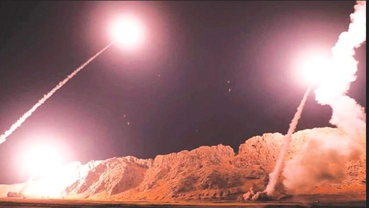Alerta mundial, Irán acaba de atacar con misiles instalaciones norteamericanas