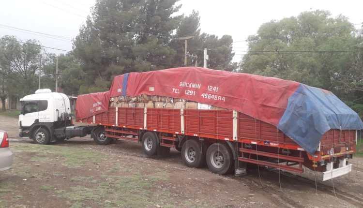 Saldungaray – Fueron entregadas más de 12 toneladas de cartón para reciclaje