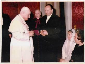 Visita a Papa Giovanni