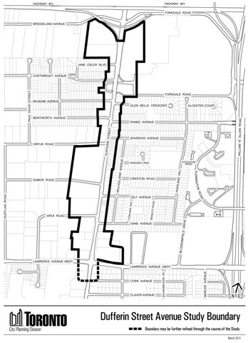 Overview: Dufferin Street Secondary Plan