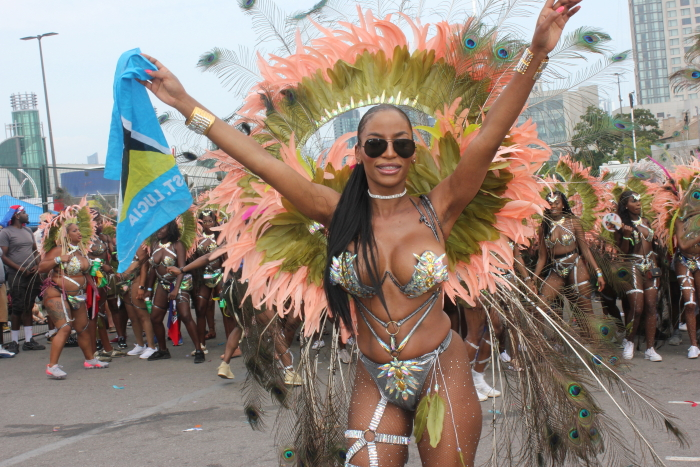 Peeks Toronto Caribbean Carnival aka Caribana 2018