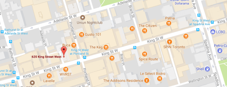 Kingly Condos Location