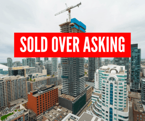 Sold Over Asking Toronto