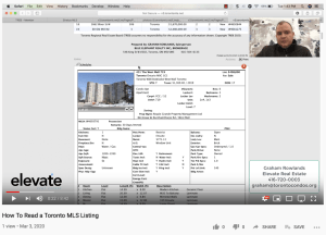 How to Read A Toronto MLS Listing