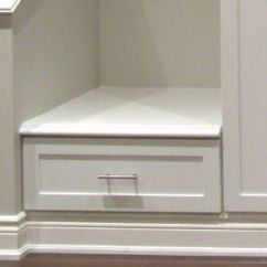 Kitchen Corner Bench Seating Table Lighting Basement Storage | Toronto Custom Concepts - Kitchens ...