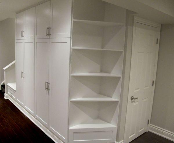Basement Storage Toronto Custom Concepts - Kitchens