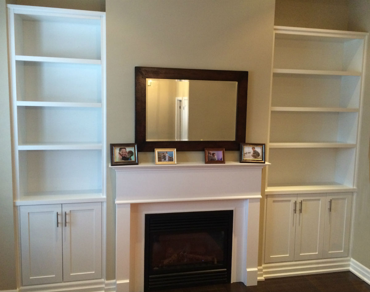 Wall Unit Shelves Open Shelving Fireplace Bookshelves Toronto Shelf