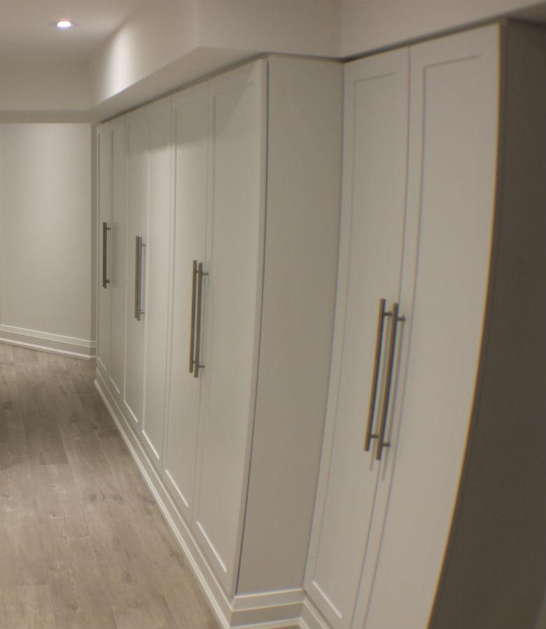 Toronto Basement Storage Toronto Custom Concepts Kitchens Bathrooms Wall Units Basements