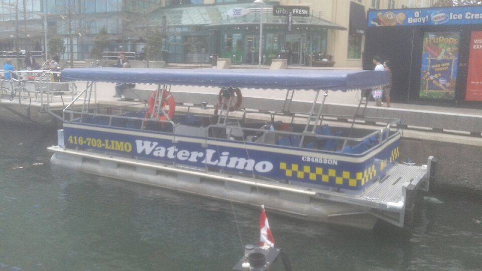 Toronto Harbour Water Taxi Water Limo WL2 img1