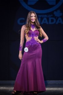 Avigail Aaron at Miss World Canada 2017