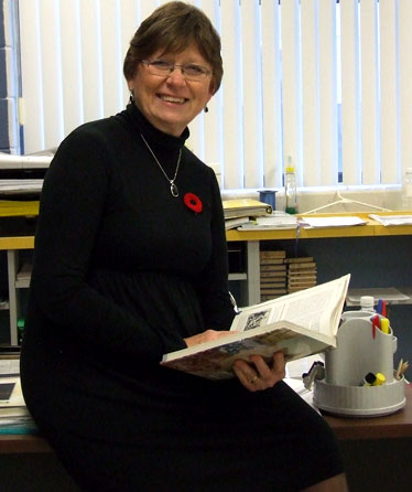 History Teacher, Coleen Chandler