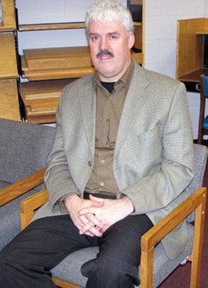 Rene Jansen, 46, co-ordinator of the PJP's alumni nights and school liaison.